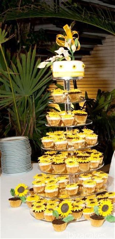 Sunflower Wedding Cake ? Ibiza Cakes