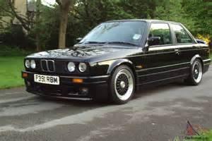 1988 Bmw 325i 1988 F E30 Bmw 325i Se Schwartz Factory Fitted Mtech 2 Edition