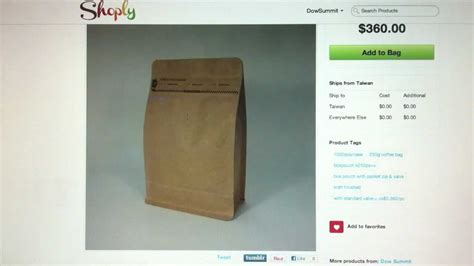 Coffee Bag Flat Bottom Valve Zipper Uk 7 5x18x3 Cm box pouch kraft paper coffee bag with valve pocket zipper