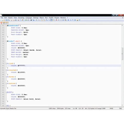css layout editor css layout editors seven of the best ides for css and html