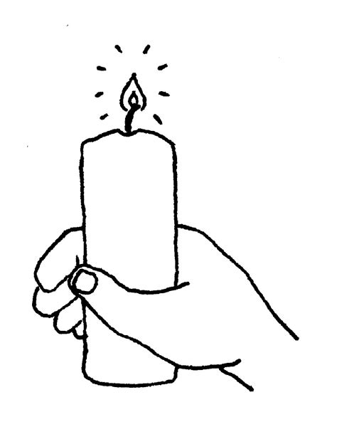 baptism candle template free candles clip free clipart images image clipartix