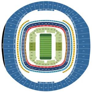 Mercedes Superdome Football Seating Chart Mercedes Superdome Seating Chart