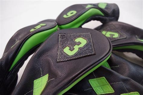Handmade Golf Headcovers - 17 best images about custom leather golf headcovers on