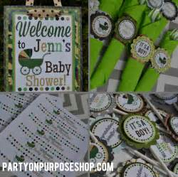 Camouflage Baby Shower Decorations Baby Shower Food Ideas Baby Shower Ideas Camo