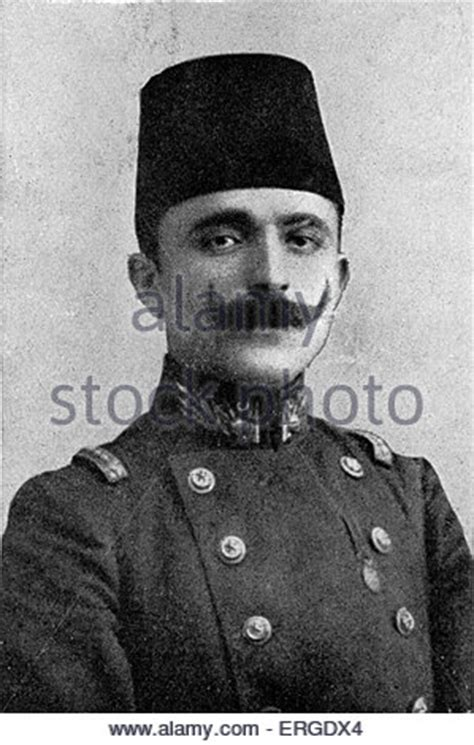 ottoman leader enver pasha turkish soldier and leader of young turks