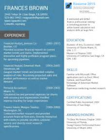 The Best Resume Examples Accountant Best Resume Examples 2015 2016 Resume 2015