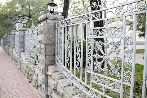 Decorative Metal Fence by Crist Fencing Llc Vinyl Fencing Wisconsin Chain Link
