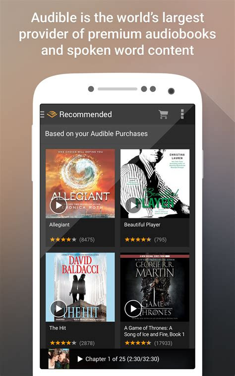 amazoncom audible  android appstore  android