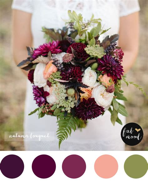 Fall Flower Wedding Bouquets by Magnificent Autumn Wedding Bouquet Bridal Bouquet