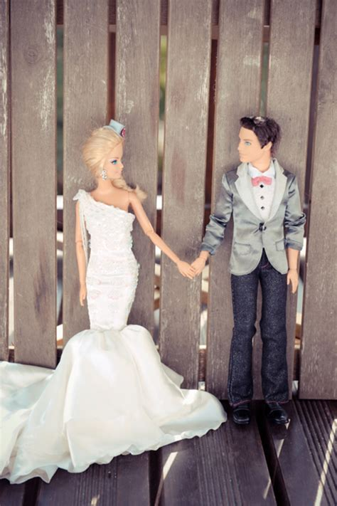real barbie real wedding album barbie ken no really it s