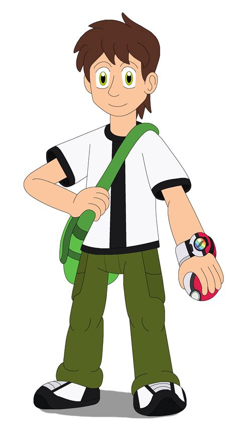 painting ben 10 ben tennyson the trainer by mcsaurus on deviantart