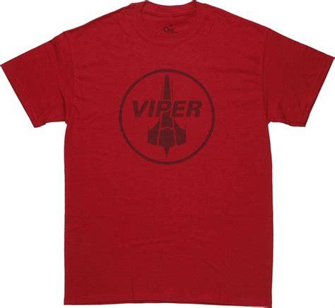 Kaos Battlestar Galactica 15 Logo battlestar galactica viper squadron t shirt