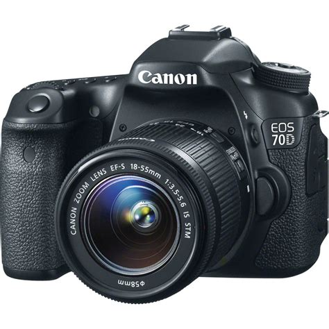 canon eos 70d dslr with 18 55mm f 3 5 5 6 stm 8469b009