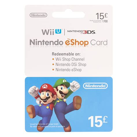 Nintendo Gift Cards - nintendo 163 15 gift card at wilko com