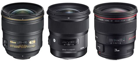 best 24mm lens for nikon sigma canon nikon 24mm f1 4 lens specifications