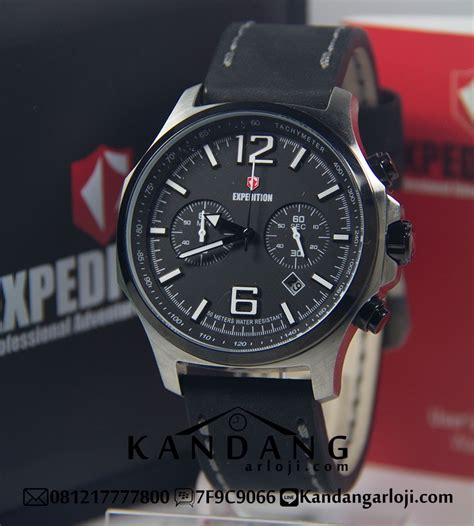 Jam Tangan Original Merk Exp Evolution Expedition Type 6734 1 jam tangan pria expedition e6657 silver hitam original
