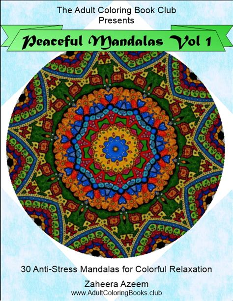 the asylum coloring book volume 1 mandalas books peaceful mandalas vol 1 anti stress coloring book