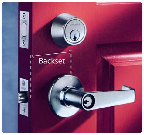 Standard Door Knob Backset kwikset 300p 3 cp polo bed and bath knob polished brass
