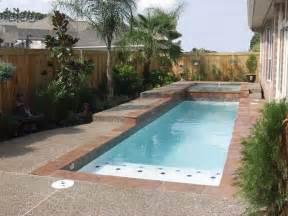 Mini Pools For Small Backyards Small Backyards With Pools Backyard Retreat