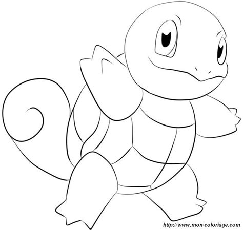 coloring pokemon page squirtle