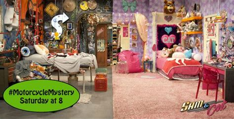 sam and cat room sam and cat on quot samandcatchallenge show us a pic of your room and you might get a