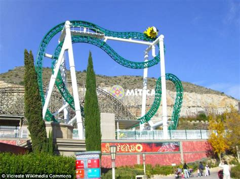 theme park benidorm teenager falls and dies on inferno rollercoaster at