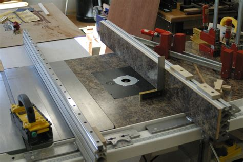 diy biesemeyer table saw table saw fence system with interchangable table saw fences