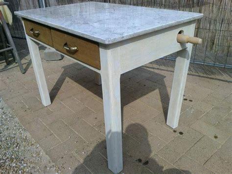 tavolo marmo due tavoli vintage anni 50 con marmo per pasta 4