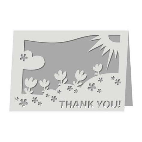 thank you free printable pop up card templates 67 best images about cricut svg cards on