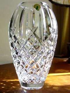 Waterford Tulip Vase by Waterford Tulip Vase Signed Eamonn Famed Designer 1995