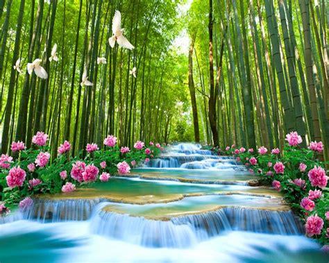gambar wallpaper air terjun hidup kumpulan wallpaper