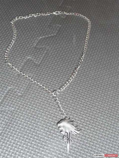 squall leonhart necklace necklaces pendants