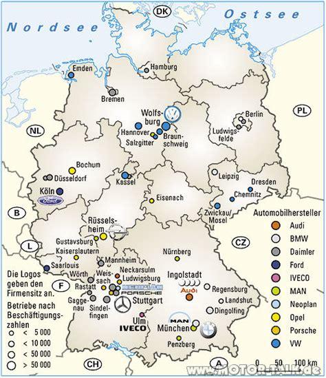 Audi Deutschland Standorte by Standorte Der Autoindustrie In Deutschland Veraltet