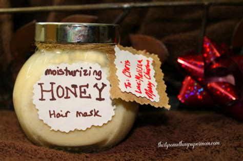 Moisturizing Diy Honey Coconut Mask Paperblog Diy Honey Hair Mask Gift Thirtysomethingsupermom