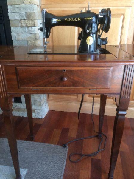 vintage singer sewing machine cabinet for sale