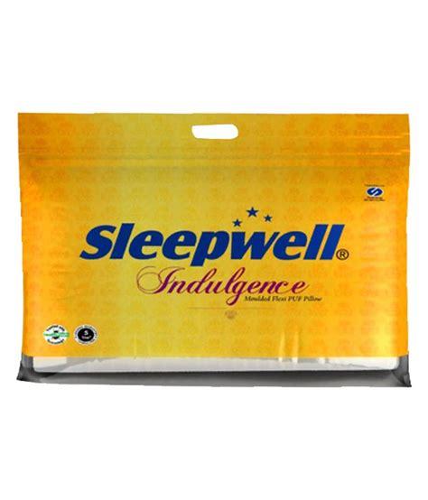 Pillow Price by Sleepwell Cotton Fibre Pillow Price