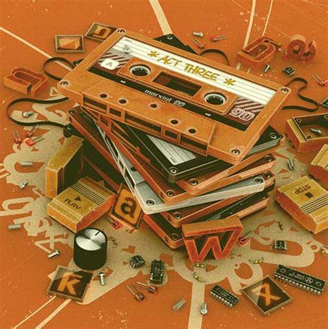 imagenes retro de musica posters con objetos de m 250 sica retro vecindad gr 225 fica