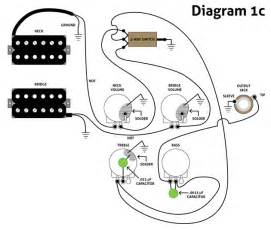wiring diagram guitar pickups images
