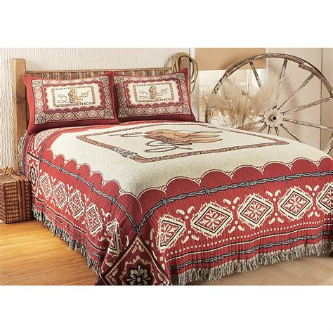 bandana bedding boots and bandanas coverlet 134229 quilts at sportsman