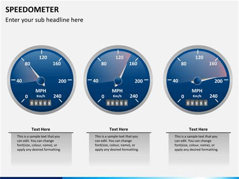 speedometer powerpoint template speedometer powerpoint template sketchbubble