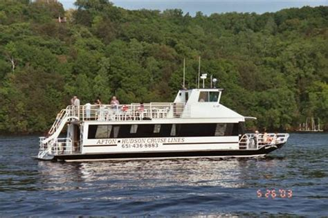 boat cruise hudson wi afton house inn st croix river cruises attractions