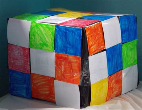 Origami Rubix Cube - how to make a paper rubix cube 28 images how to make a
