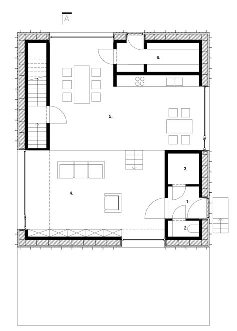 zero energy home design floor plans gallery of zero energy house lokeren blaf architecten 13