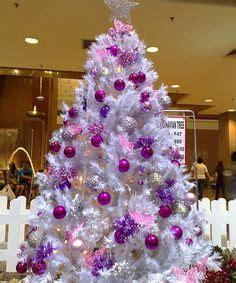 white christmas tree with purple lights white tree with purple lights happy holidays