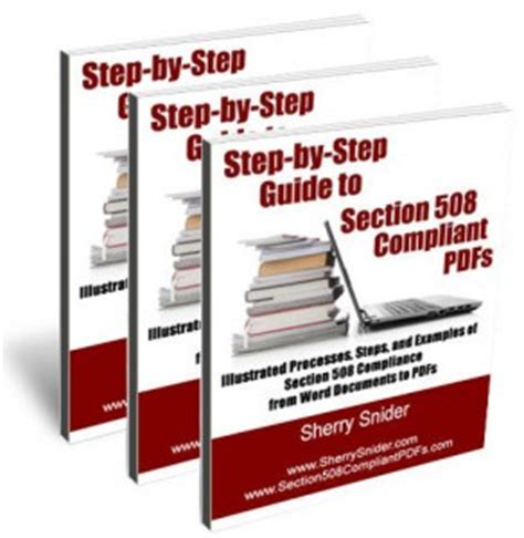section 508 compliant buy the book step by step guide to section 508 compliant