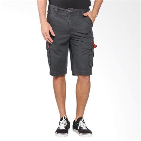 Celana Cowok Casual Distro New Style 4 jual cardinal casual bermuda cargo 3 4 celana pria grey ebbx036 04a harga kualitas
