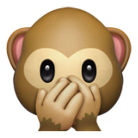 speak no evil monkey emoji (u+1f64a)
