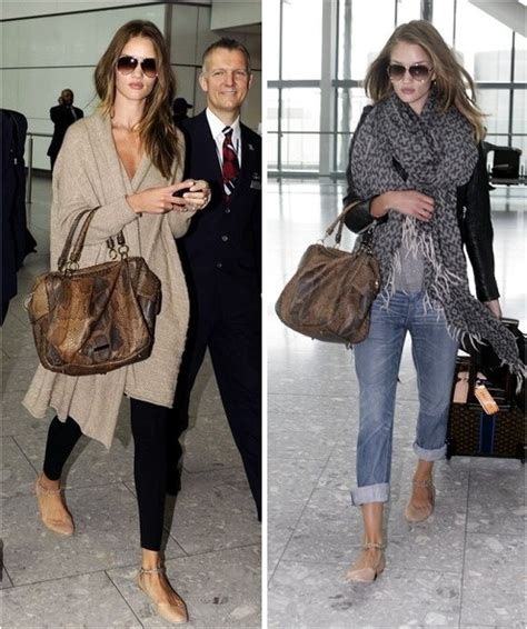 comfortable but stylish outfits jet set style rosie huntington whiteley la dolce vita