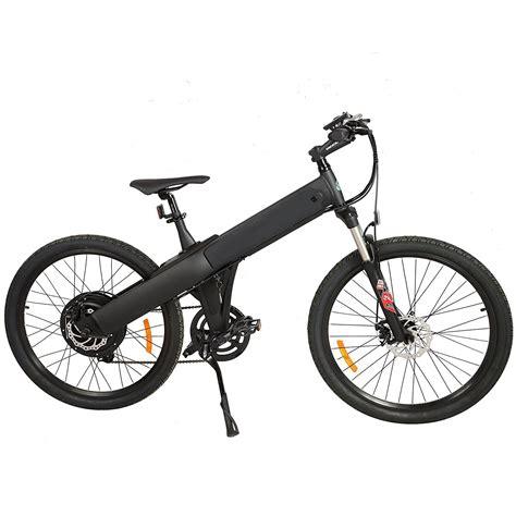 E Bike E Go by E Go Electric Bike Matt Black Electric Bicycle Mountain