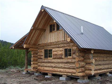 Small Log Cabin Home Plans Montana Mobile Cabins Virtual Tour